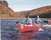 Canoeing on Delaware or Lehigh Rivers