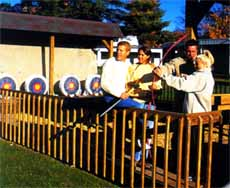archery at Pocono Palace