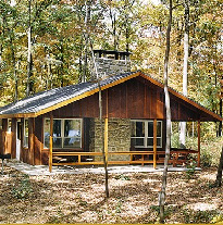 Cabin in the Woods at Mountain Springs