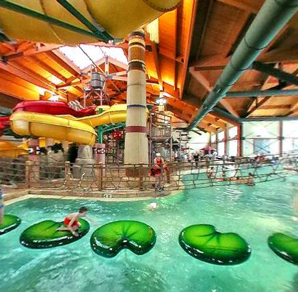 Poconos indoor Waterpark