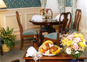 Dining at Pocono Manor Resort