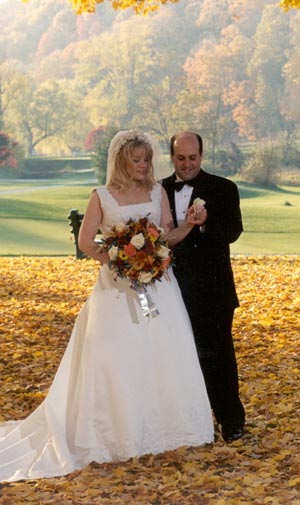 Fall Wedding Outdoors